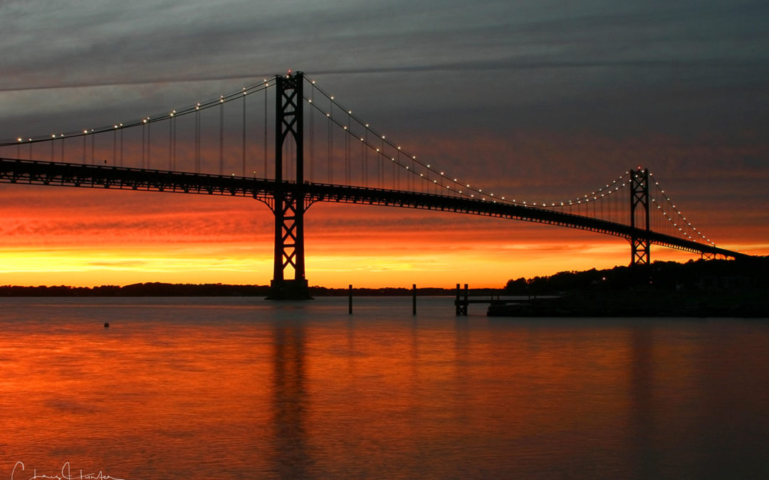 Mt. Hope Bridge Sunset
